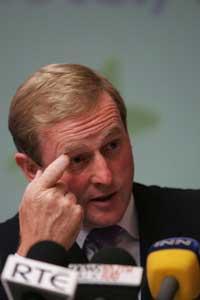 Enda Kenny - leader of Fine Gael