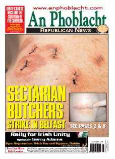 Belfast nationalist survives frenzied sectarian attack