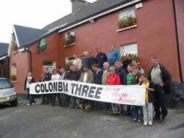 Colombia 3 walkers reunite