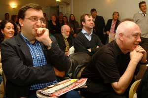 Former editors Mícheál Mac Donncha and Danny Morrison