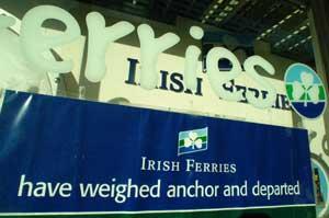 Irish Ferries determined to axe Irish jobs