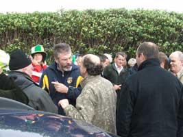 Gerry Adams MP visits Ballinaboy