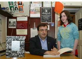 Mícheál Mac Donncha - editor of the Sinn Féin Céad Bliain book