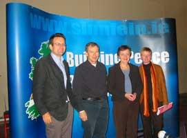 Bairbre de Brún at the anti-poverty conference