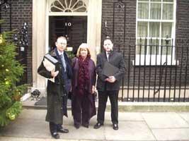 Michael Ferguson, Maeve McLaughlin and Desy Ward.