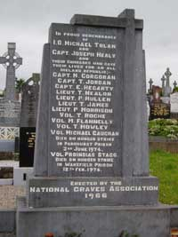 Michael Gaughan and Frank Stagg headstone
