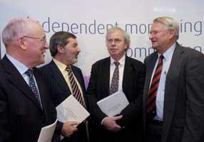 Independent Monitoring Commission — Joe Brosnan, John Alderdice, John Grieve and Dick Kerr