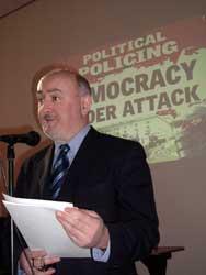 Sinn Féin's Dáil leader and TD for Cavan/Monaghan Caoimhghín O'Caoláin