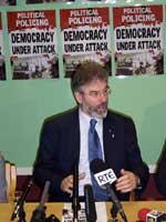 Sinn Féin President Gerry Adams MP