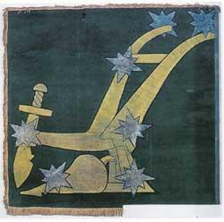 Image result for original starry plough flag