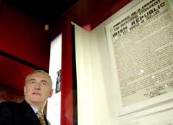 Taoiseach Bertie Ahern