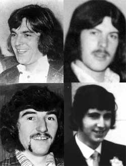 Joe McDonnell, Kieran Doherty, Kevin Lynch and Martin Hurson