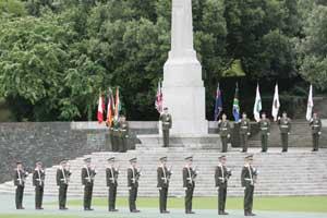 Commemoration of the Battle of the Somme, the Irish National War Memorial Park, Islandbridge, Dublin