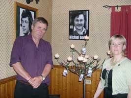 Councillor PJ Branley and Councillor Bernice Swift