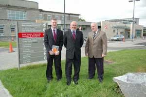 Martin Kenny, Michael Mulligan and Caoimhghín Ó Caoláin TD