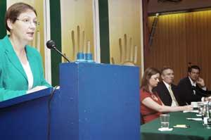 Sinn Féin MEP Bairbre De Brun