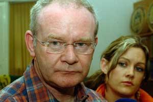 Sinn Féin's Chief Negotiator and Mid Ulster MP Martin McGuinness