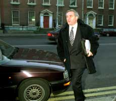 Bertie Ahern remains at the centre of a political storm this week over money he received while he was Finance Minister