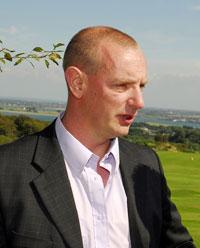 Wexford Sinn Féin General election candidate and New Ross Councillor John Dwyer