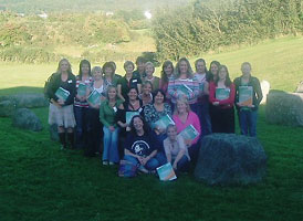 Women's skills training session, Tí Chulainn Cultural Centre, Mullach Bán, Co. Armagh