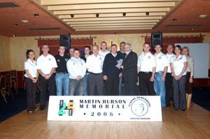 Martin Hurson/Fergal O'Hanlon Sinn Féin Cumann members with Francie Molloy