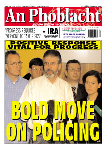 Gerry Adams announced to the waiting media that the Ard Chomairle had backed his proposal and that if others, including the two governments and the DUP, responded positively the Special Ard Fheis would take place this January