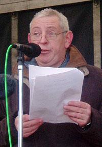 Sinn Féin Councillor Brian McCaffrey chaired the proceedings