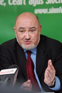 Sinn Féin Dáil leader and spokesperson on Health Caoimhghín Ó Caoláin