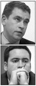 John Deasy and Damien English