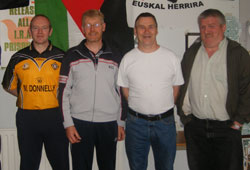 Republican prisoners Pearse McAuley,  Kevin Walsh, Mick O'Neill and Jerry Sheehy