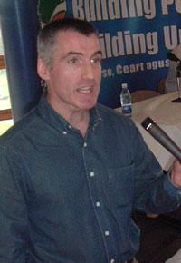 Declan Kearney, chair of Cúige Uladh