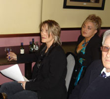 Amanda and Anita Fullerton at the meeting in Urlingford, Co Kilkenny