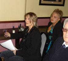 Amanda and Anita Fullerton at the meeting in Urlingford, Co Kilkenny