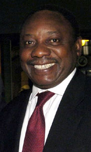 ANC member Cyril Ramaphosa