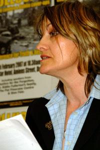 Amanda Fullerton, daughter of murdered Sinn Féin Councillor Eddie Fullerton