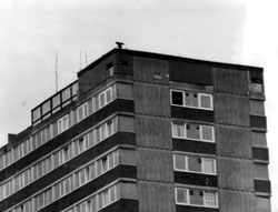 • Tommy Hughes was shot dead by the UVF in full view of a British Army spy post on the top of Divis Flats