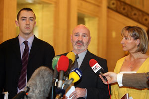 Daithí McKay, Alex Maskey and Martina Anderson are going onto the Policing Board to hold the PSNI to account