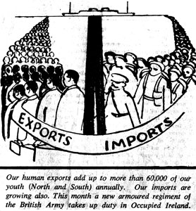 From The United Irishman, July 1957