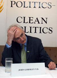 Minister for the Environment, John Gormley