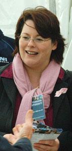 Sinn Féin Minister of Agriculture, Michelle Gildernew