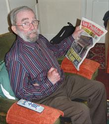 Seamus Graham at his home in Crumlin, Dublin
