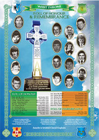 The full colour tribute to the republican dead of West Tyrone