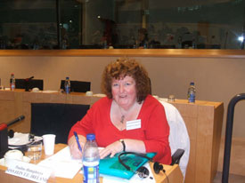 Pauline Humphreys, Sinn Féin delegate at the conference