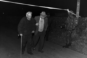 The Scene where the Gerard and Rory Cairns were murdered