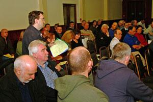 Dublin Sinn Féin members heard the call to regain the party's momentum in the capital