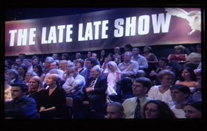 John Crown was controversially dropped from last week's The Late Late Show panel