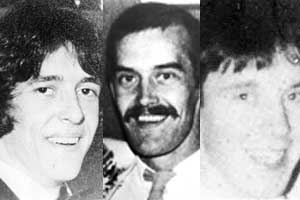 Gerard Casey, Daniel Doherty and Francis Bradley