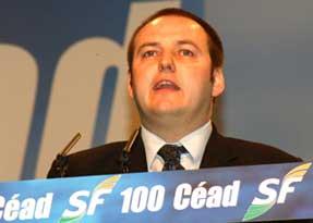 Sinn Féin Councillor Pádraig Mac Lochlainn