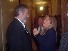Gearóid Mac Ádhaimh agus Frances Black