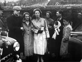 Charlie Murphy consoling Fergal O'Hanlon's mother with cousins Teresa, Nuala, Tommy and Frank, also included is neighbour Noel Kavanagh